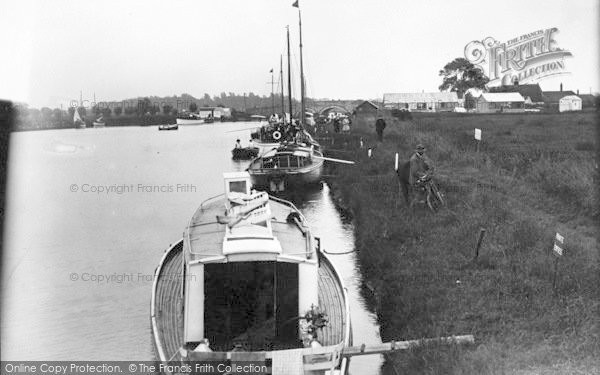 Photo of Acle, Yachts c.1955