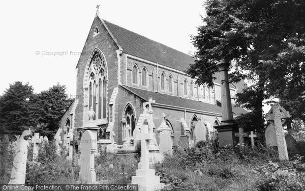 Photo of Acock's Green, St Mary's Church c.1965