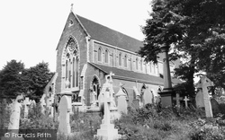 Acock's Green, St Mary's Church c.1965