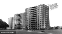 Acock's Green, The Flats, Pemberley Road c.1965