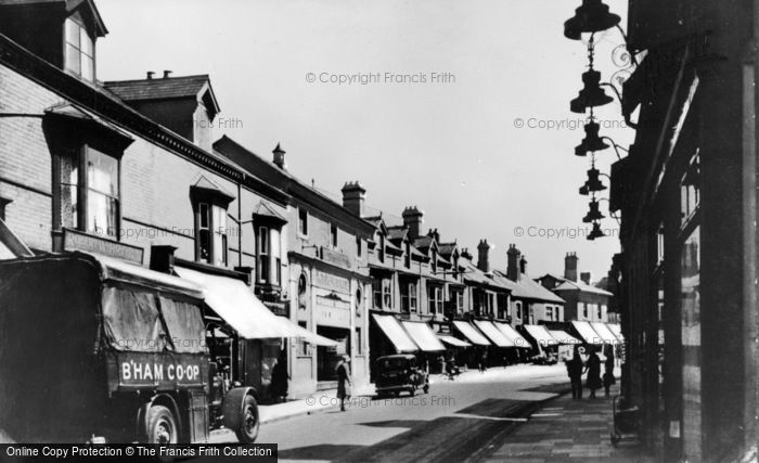 Photo of Acock's Green, Warwick Road 1934