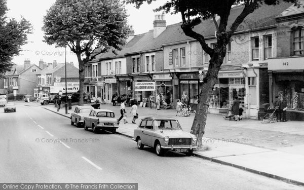 Photo of Acock's Green, Yardley Road c1965
