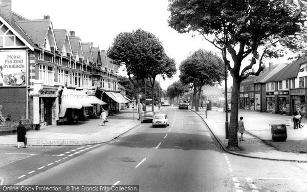 Acock's Green, Yardley Road c.1965