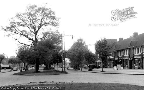 Acocks Green, Fox Hollies Road c.1955
