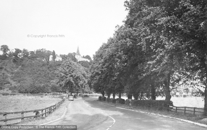 Photo of Acomb, St John Lee And Vicarage c.1955