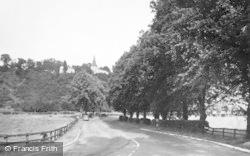 Acomb, St John Lee And Vicarage c.1955