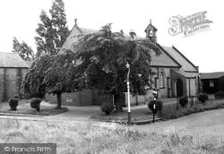Acrefair, St Paul's Church c.1955
