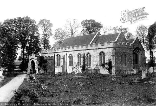Photo of Acton, All Saints Church 1906