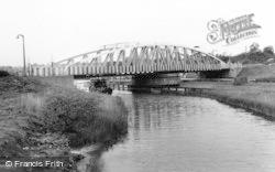 Acton Bridge, The Swing Bridge c.1965