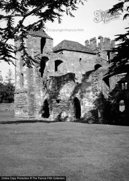 Photo of Acton Burnell, Castle 1948