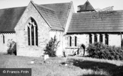 Acton Burnell, Church c.1950