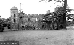 Acton Burnell, The Castle c.1960