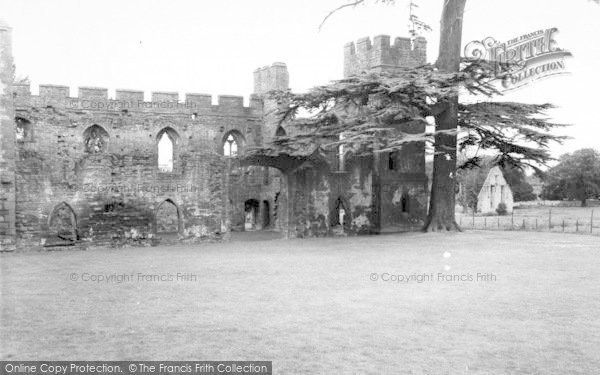 Photo of Acton Burnell, The Castle c.1960