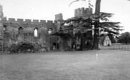 Acton Burnell, The Castle c.1960
