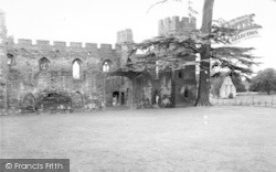 The Castle c.1960, Acton Burnell