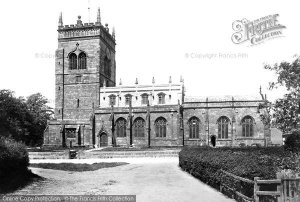 Photo of Acton, St Mary's Church 1898