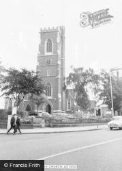 Acton, St Mary's Church c.1955