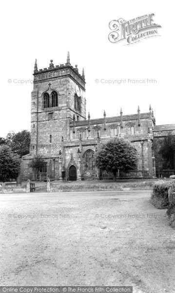 Photo of Acton, St Mary's Church c.1960
