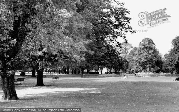 Photo of Acton, The Park c.1960