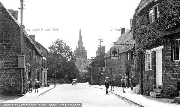 Photo of Adderbury, High Street c.1955