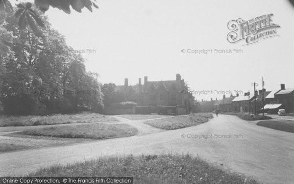 Photo of Adderbury, High Street From The Green c.1955
