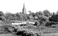 Adderbury, the Church c1955