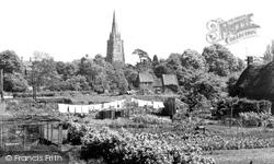 Adderbury, St Mary's Church c.1955