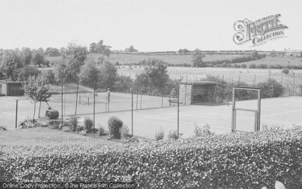 Photo of Adderbury, Tennis Courts c.1955