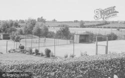 Adderbury, Tennis Courts c.1955
