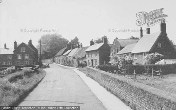 Photo of Adderbury, The West c.1955