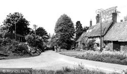 Adderbury, West Adderbury From Milton Road c.1955