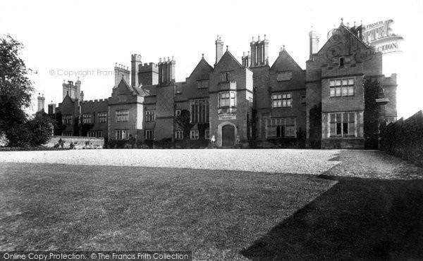 Photo of Adderley, Adderley Hall 1898