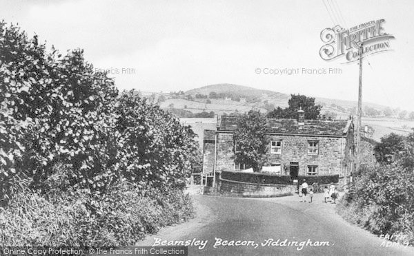 Photo of Addingham, Beamsley Beacon c.1955