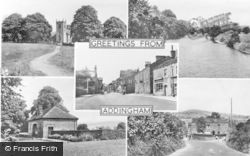 Addingham, Composite c.1955