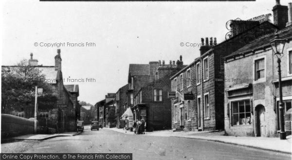 Photo of Addingham, Main Street c.1955