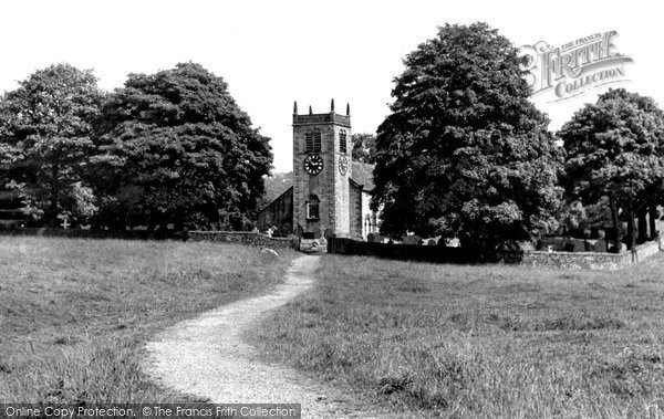 Photo of Addingham, St Peter's Church c.1955
