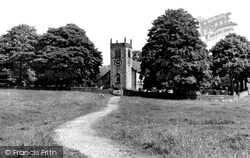 Addingham, St Peter's Church c.1955