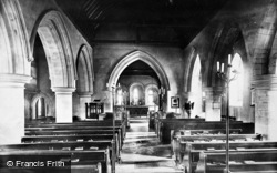 Addington, Church Interior 1890