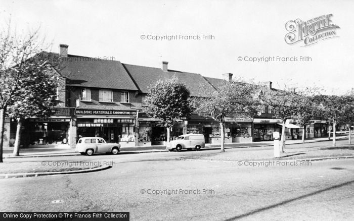 Photo of Addington, Crossways Parade c.1960