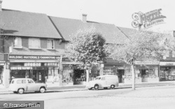 Addington, Crossways Parade c.1960