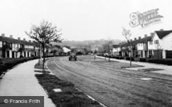 Falconwood Road c.1960, Addington