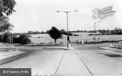 Gravel Hill Roundabout c.1965, Addington