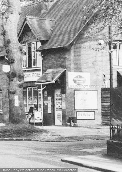 Photo of Addington, Local Stores c.1965