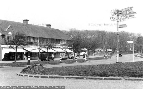 Photo of Addington, Selsdon Park Road c.1950