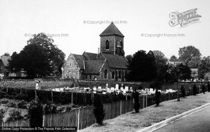 Photo of Addington, St Mary's Church c.1965