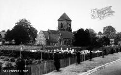 St Mary's Church c.1965, Addington