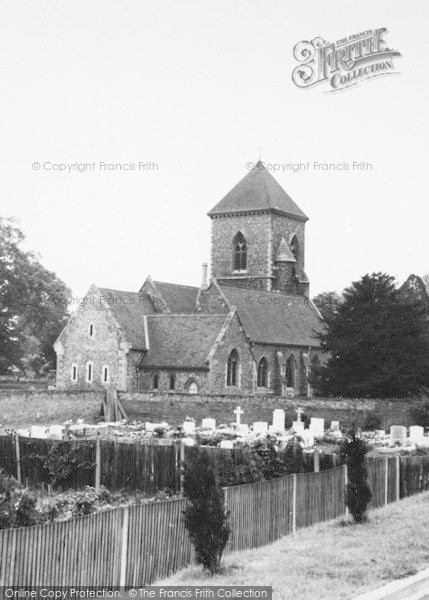 Photo of Addington, The Methodist Church c.1965