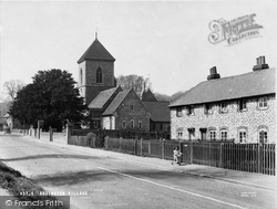 Addington, The Village And St Mary's Church c.1950