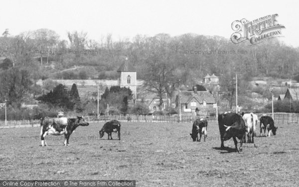Photo of Addington, The Village c.1960