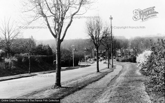 Photo of Addington, View From Featherbed Lane c.1960